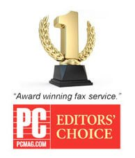 Award Winning fax service from pcmag